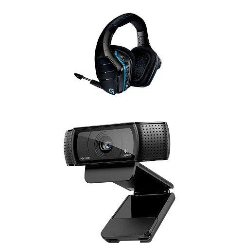 Logitech Cuffia G933 + Logitech Webcam HD Pro C920