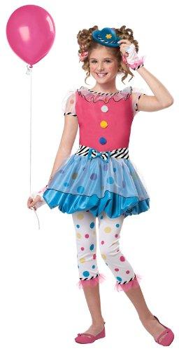 Dotsy Clown Child Costume Size Small
