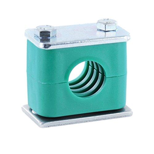 Hydraulikrohrschelle Rohrschelle Schlauchschelle mit Anschweißplatte 12 mm