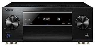 Pioneer SC-LX801(B), Receptor AV 9.2 (200 W/Canal, Home Cinema, Multiroom, Dolby Atmos/TrueHD, WiFi, Bluetooth, Streaming, Apps de música, Radio), Negro (B01MTW6BV6) | Amazon price tracker / tracking, Amazon price history charts, Amazon price watches, Amazon price drop alerts