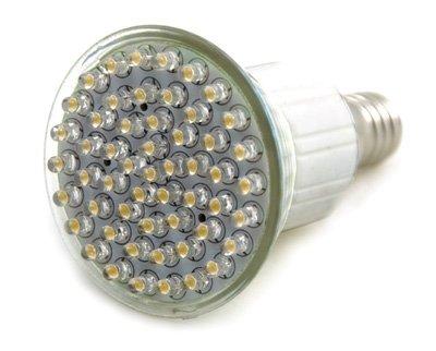 lux.pro® E14 LED SPOT E14 230V LEUCHTMITTEL Energiesparlampe mit 54 LEDs