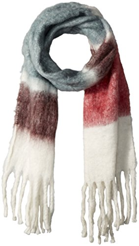 Connection-schal (French Connection Damen Schal Maralyn Ombre Scarf, Mehrfarbig (Dvegry/Whte/Popl/Ugr 90), One Size)