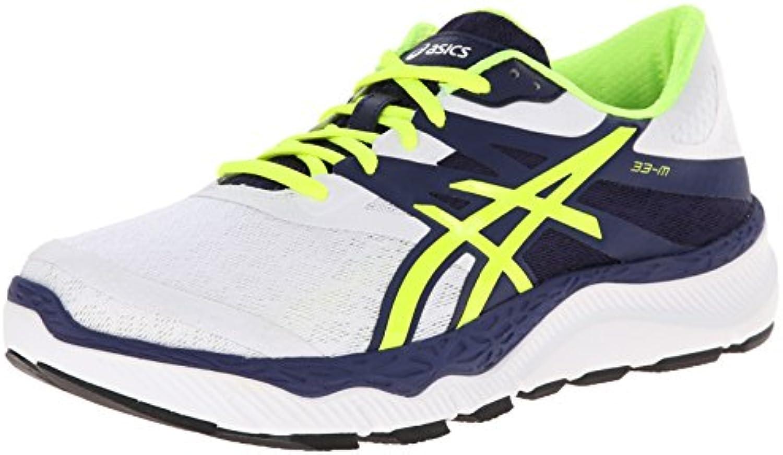 Scarpa da da da corsa da uomo 33-M, bianca   gialla   blu, 8,5 M US   Numerosi In Varietà    Uomini/Donne Scarpa  867cf3