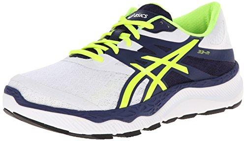Asics White M Running Navy Flash Shoe Yellow Mens 33 rAn7xXrv