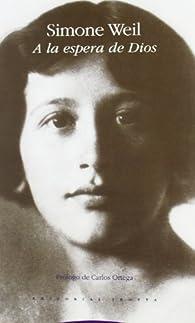 A la espera de Dios par Simone Weil