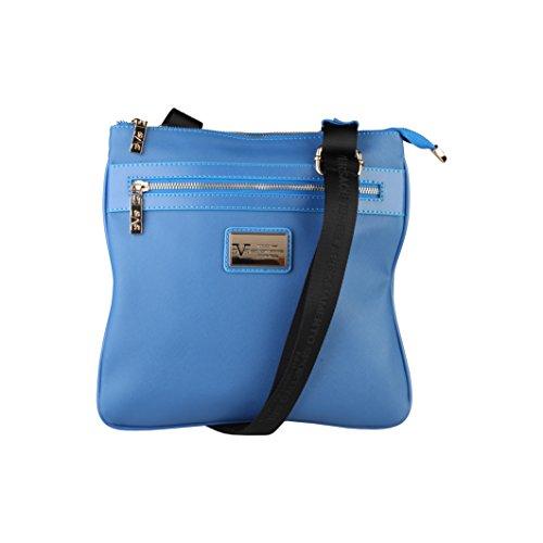 V 1969 - Sac porté épaule pour femme (5VXW84664_BLU-NAVY) - Bleu Bleu