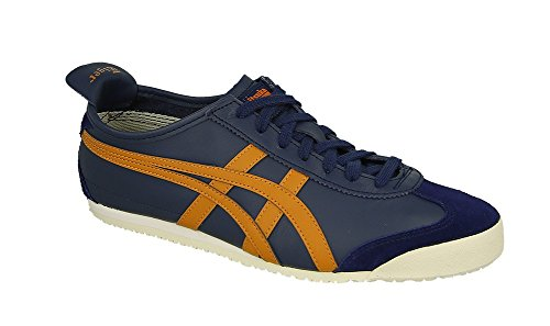 Asics Mexico 66, Baskets Basses Mixte Adulte Multicolore (Peacoat/honey Ginger)