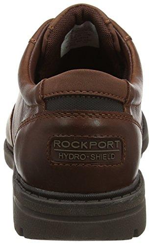 Rockport Tough Bucks Plain Toe Oxford 2, Richelieus Homme Marron (Dark Tan)