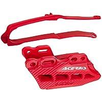Acerbis Guide-chaîne/schwinge Meuleuse avec accessoires Rouge