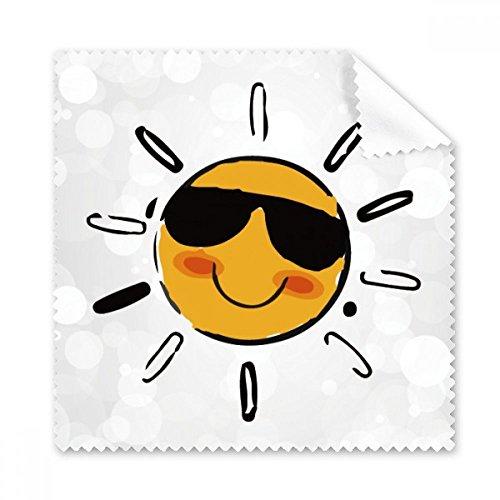 Sonnenbrille Wetter Sun Illustration Muster Brille Reinigungstuch Reinigungstuch Handy-Display von 5x Geschenk