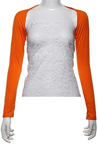 YEESAM -  Maglia a manica lunga  - Donna Orange