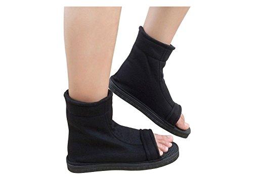 0557acc74eb1 DAZCOS Negro Shippuden Ninja Zapatos  US 5 – Nosotros 11   Adulto niño