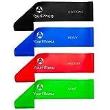 Fitnessband »Achilles« Latex Loop-Band für Fitness, Reha und Physiotherapie, grün / leicht