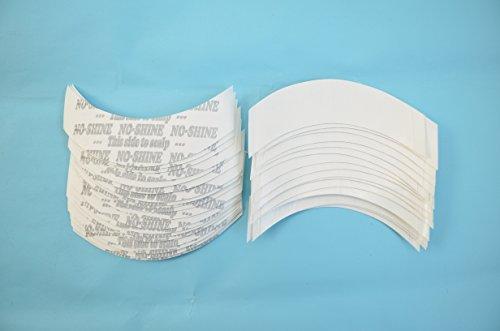 AIRAO No Shine Klebeband Toupee Tape Streifen Perücke Band Doppelseitige Form CC Contour 36 Stück pro Beutel (Haar-extensions-36)