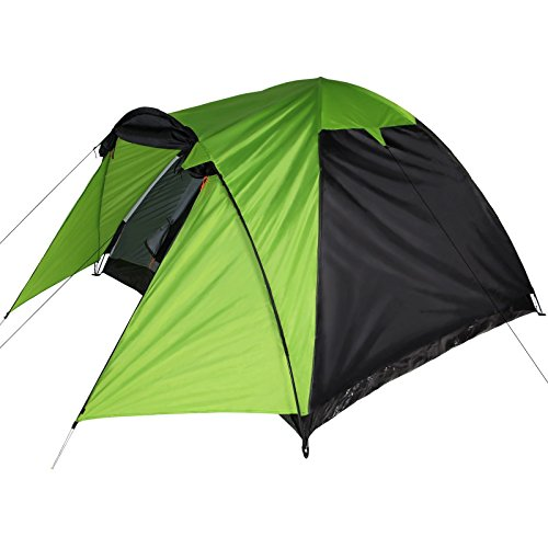 Kuppelzelt-mit-Apsis-ERIE-3-4-Personen-Camping-Zelt-von-BB-Sport-FarbePhantom-Green
