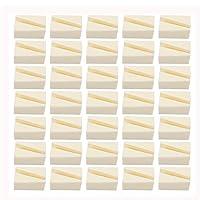 Tugaizi 70 Pieces Make Up Wedges Nail Art Sponges Triangle Shape Makeup Sponge Blender Cosmetic Wedges Foundation Beauty Tool