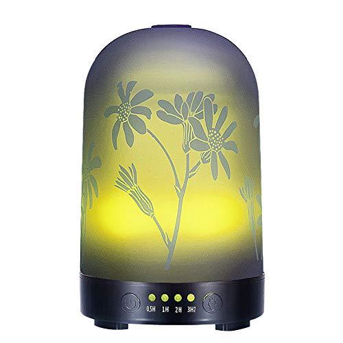 WANGPING Máquina De Aromaterapia 3D Humidificador Hogar Ultrasonido Colorido Creativo Árbol De Coco Ilustración Luz Nocturna