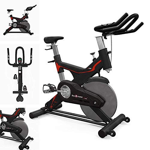 41dLGoPytlL. SS500  - We R Sorts Indoor Studio Cycle Exercise Spin Bike Fitness Cardio Indoor Aerobic Spinning Bike Mach RS5000 Bike