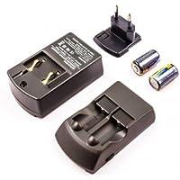 Adaptateur secteur et chargeur de voiture compatible pour Canon CR2, CR-2