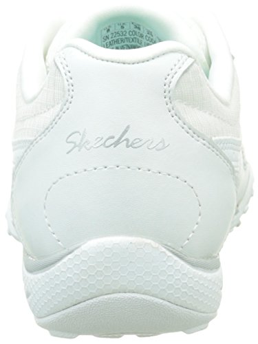 Skechers Breathe Easy Jackpot, Sneakers Basses femme Blanc