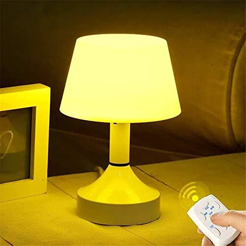 ZCHPDD Amento della Luce Notturna Timer Lettinterruttore Camera da Letto Telecomando Casa Intelligente Luce Notturna Regalo per Bambini Giallo 108 * 108 * 162Mm (Interruttore)