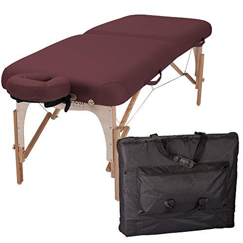 Inner Strength by EARTHLITE E2 - Tragbare, mobile Massageliege, Reiki Endplatten inkl. Kopfstütze und Tragetasche