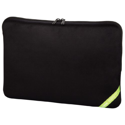 Hama 101212 Velour Notebook-Sleeve bis 40 cm (15,6 Zoll) schwarz