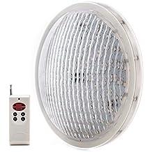 Foco de PIscina de LEDs PAR 56 25W RGB con Mando