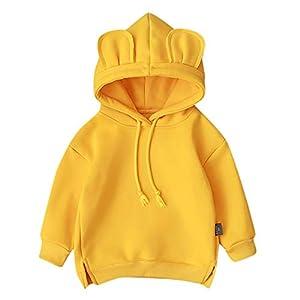 Baby Mädchen Junge Kleidung Kapuze Cartoon 3D Ohr Hoodie Sweatshirt Tops Kleidung