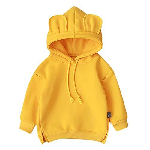 Baby Mädchen Junge Kleidung Kapuze Cartoon 3D Ohr -