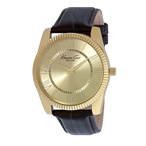 Kenneth Cole New York 10021685 – Orologio da polso analogico in pelle da donna
