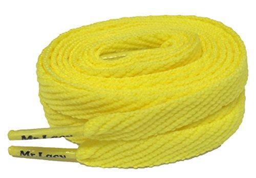 Mr Lacy Smallies Jaune Lacets – 90 cm - Jaune - jaune,