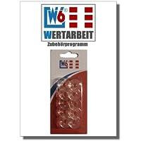 Original W6 Nähmaschinen Spulen - 10 Stück