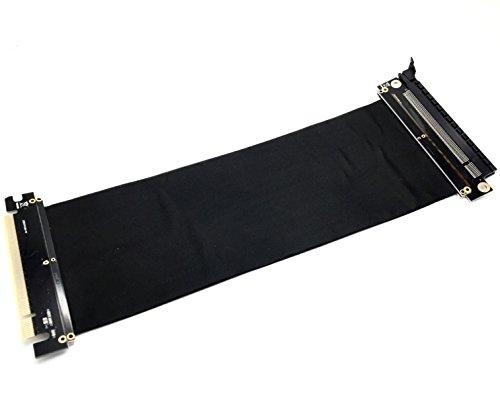 Low-profile-gpu (EasyDiy All New PCI Express 16x flexibles Kabel Karten Verlängerung Port Adapter High Speed Riser Card-25cm)