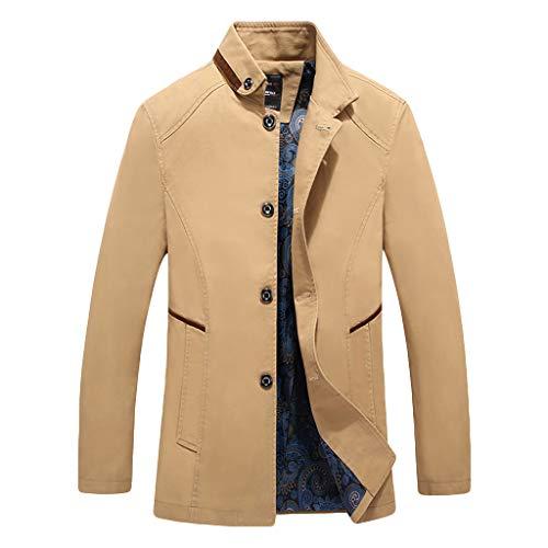 Herrenmode lässig Kapuzenjacke Männer Fashion Casual Cap Jacke Mode große Bequeme Jacke Mantel