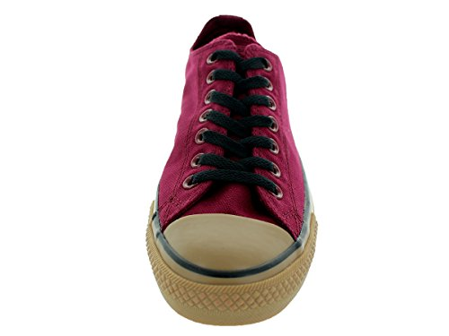 Converse Chuck Taylor Ox Black Mens Trainers Oxblood