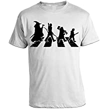 Tshirt Walking Il Signore degli Anelli - Lord of Rings - humor - in cotone