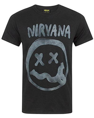 Nirvana Smiley Logo Men's T-Shirt (M)