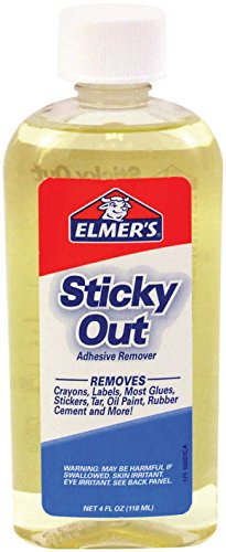 Elmers Sticky (Elmer's Sticky Out Adhesive Remover, 4.0 Ounces, Clear (171) by Elmer's)