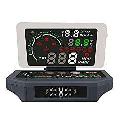 Automotive-Tool 5,8 '' Auto HUD Head Up Display Reflektierende Film 3 IN 1 AUTOMOBILE OBD Smart Auto HUD Halter Halterung X360 Mobile Navigation Bracket
