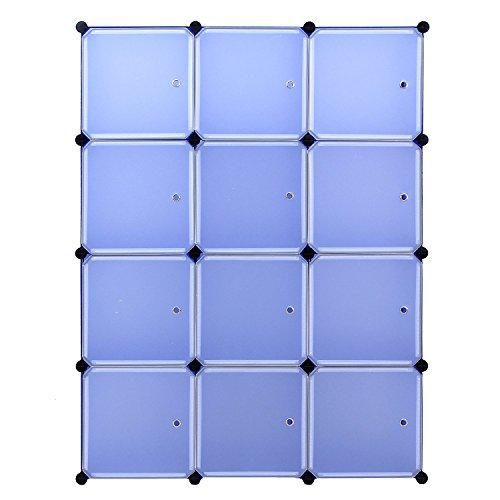 Regalsystem DIY Regal Schrank Garderobenschrank W?scheschrank Kleiderschrank Aufbewahrung Kapazit?t Schlafzimmer Schlafzimmer