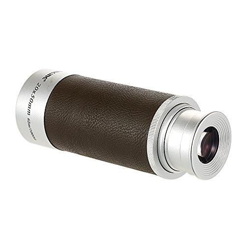 Lixada Monokulares Fernglas Visionking 20x50 Handheld Zoomable Monocular mit Tragetasche