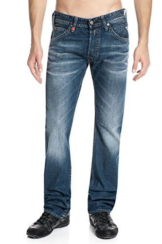 Replay - Jeans - Relaxed Homme dark greencast