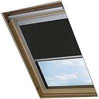 Bloc Skylight estor U08para ventanas de techo Velux Blockout, color negro
