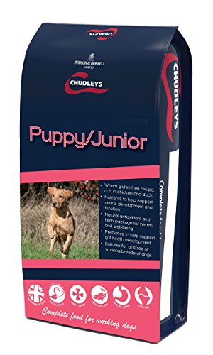 Chudleys Puppy Junior Hypoallergenic Dry Puppy Food – Rich in Chicken and Duck, 12 kg