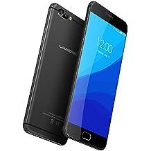 UMIDIGI Z Pro Smartphone Libre Android (Pantalla 5.5 '', 4G Lte Doble SIM, Deca-core Helio X27 CPU 2.6Ghz, 4GB de RAM memoria interna de 32 GB, Android 6.0 (Android 7.0 Support), cámara frontal de 13MP y trasera de 13MP SONY IMX 258 , 3D Capture, Sensor de huellas dactilares de contacto frontal, GPS, WIFI, OTG) - color negro