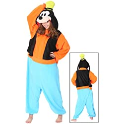 Genuine Kigurumi Disney Goofy By the Original Creator Sazac in Japan / Adult Fancy Goofy Kigurumi Pajamas (japan import)