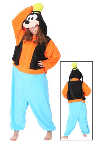 Kostüme Japan In (Genuine Kigurumi Disney Goofy By the Original Creator Sazac in Japan / Adult Fancy Goofy Kigurumi Pajamas (japan)