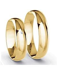Partnerringe gold  Suchergebnis auf Amazon.de für: eheringe gold 585er: Schmuck