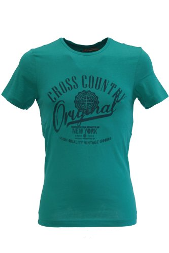 Blend of America -  T-shirt - T-shirt  - Maniche corte  - Uomo turchese Medium